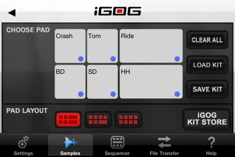 iGOG: Massive Drums screenshot 2