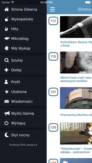 iPhone — zrzut ekranu 3