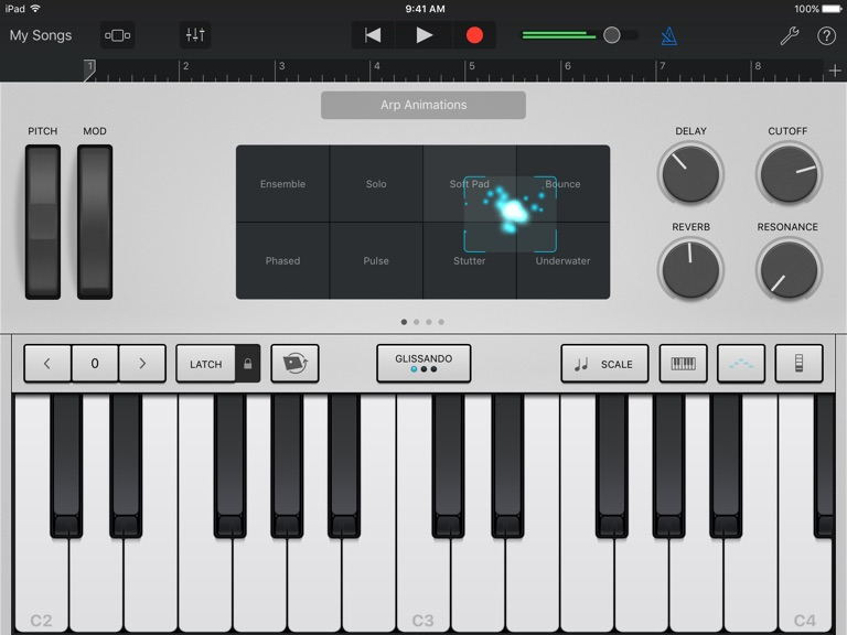 iPad Skjermbilde 1