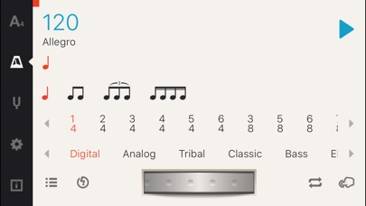 Screenshot #6 for Cadenza: Tuner + Metronome