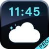 Weather Clock Pro-Simple and Beautiful Alarm Clock