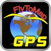 FlyToMap All in One GPS maps marine lakes parks