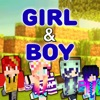 Creative Girl & Boy Skins for Minecraft PE Edition