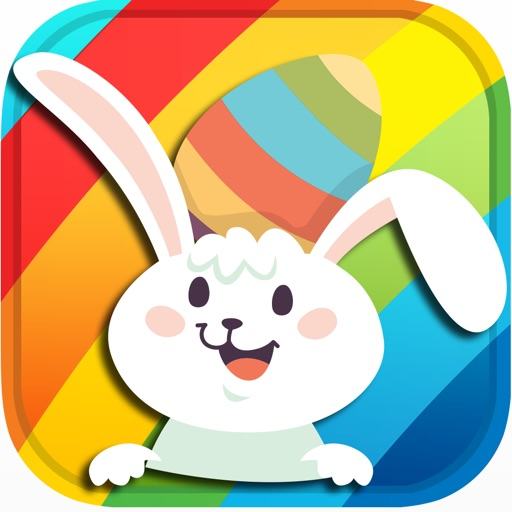 Easter's Bunny Egg Matching Game:Pairs for Kids HD iOS App