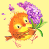 download Cute Birds for Easter Spring Birthday Sticker Pack
