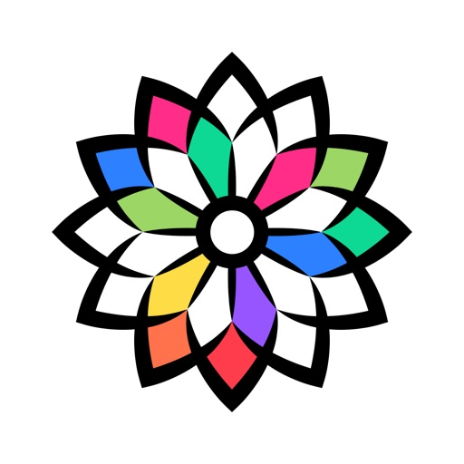 Coloring Book & Color Pages for Anti-Anxiety iOS App