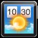 Weather Widget: Desktop forecast