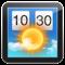 App Store icon of (Lite Version) Weather Widget: Desktop forecast