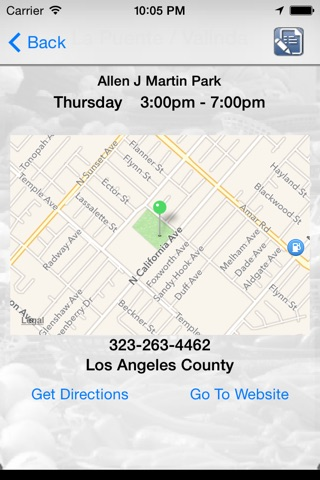 California Farmers' Market Finder screenshot 3