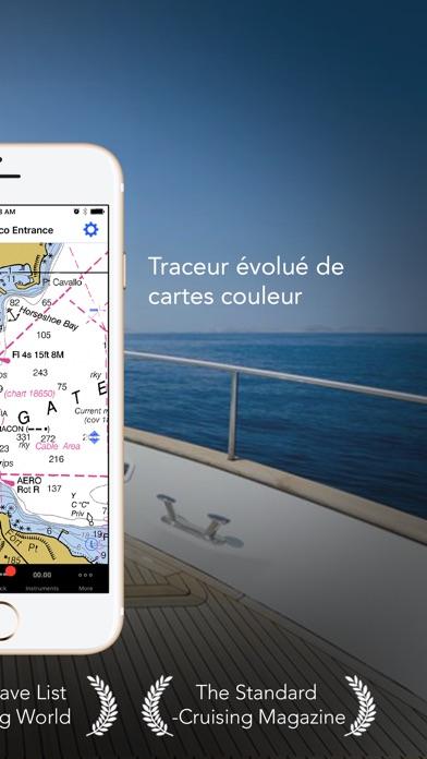 Screenshot iNavX - Marine Chartplotter