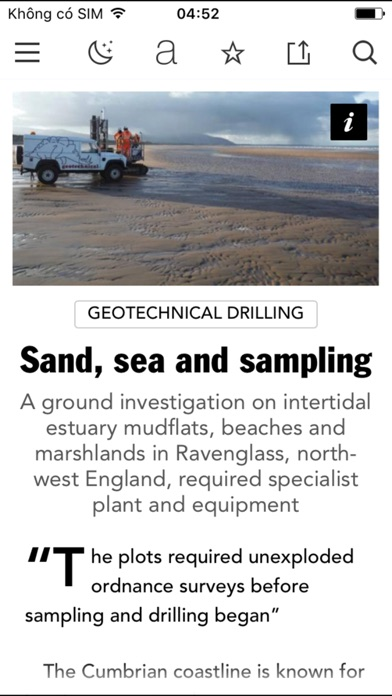 Geodrilling International review screenshots