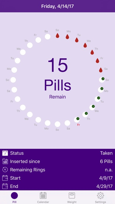 Screenshot #2 pour BC Pill Pro - Birth Control Pill