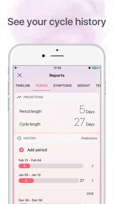 Period Tracker: Period Calendar Ovulation Tracker screenshot