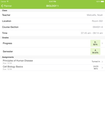 Infinite Campus Mobile Portal screenshot 4