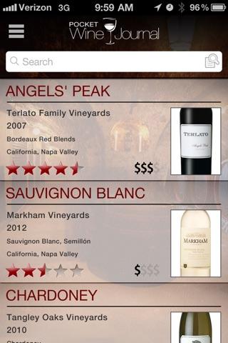 Pocket Wine Journal screenshot 4