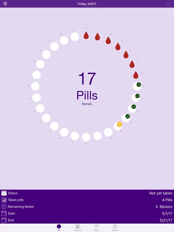 Screenshot #5 pour BC Pill Pro - Birth Control Pill