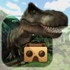 Jurassic Virtual Reality (VR) logo