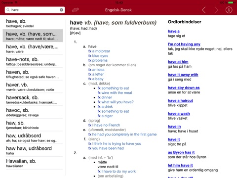 English Danish Dictionary - Medium screenshot 4