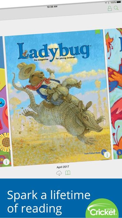 Ladybug Magazine review screenshots