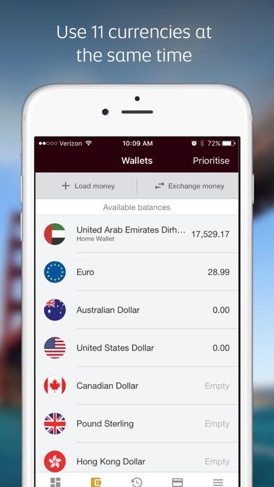 Etihad Guest walletplus™ app screenshot one
