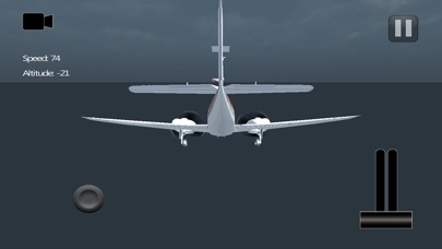Aircraft driving simulator 3D screenshot 1