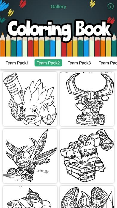 iphone screenshot 1 - Coloring Book Creator