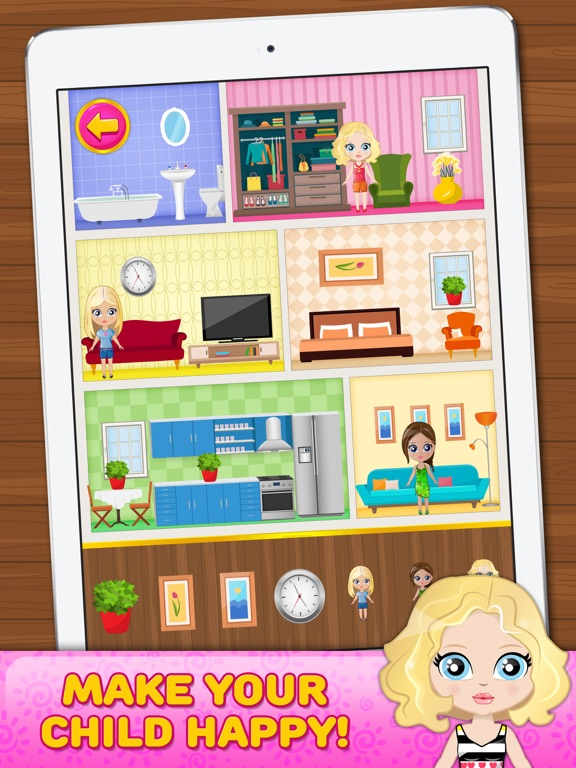 Doll house decorating game on the app store Decorating a home games
