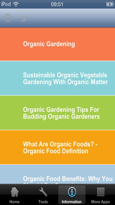 Organic Gardening Tips screenshot one