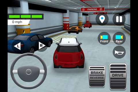 High School Car Driving Test screenshot 4
