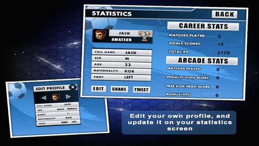 Flick Soccer 3D Screenshot