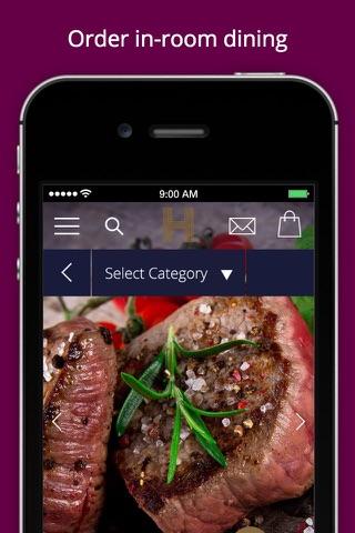 iRiS Mobile Valet - Heddon Hotel screenshot 3