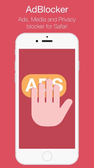 AdsBlocker - Privacy & Media Screenshots