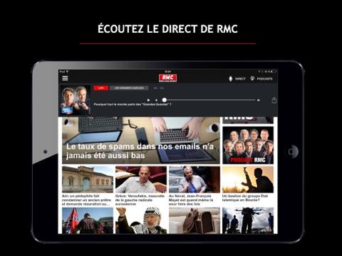 RMC : Info Talk Sport screenshot 2