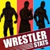 摔跤統計狂熱的摔跤手和天后
