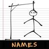 Eduardo Raizer - Hangman: Names artwork