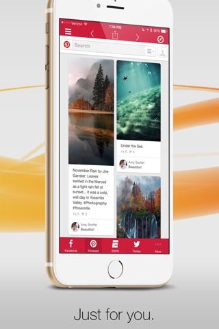 Facely HD for Facebook + Social Apps screenshot 4