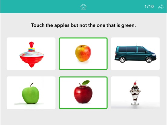 Screenshot #4 for Following Directions by Teach Speech Apps