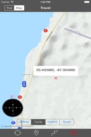 COZUMEL ISLAND – GPS Travel Map Offline Navigator screenshot 2