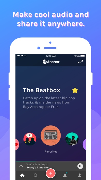 download Anchor apps 0