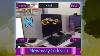 Alphabet Learning Game AR