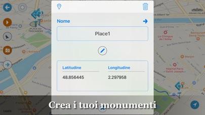 Screenshot of Pianifica percorsi : MapWalker5