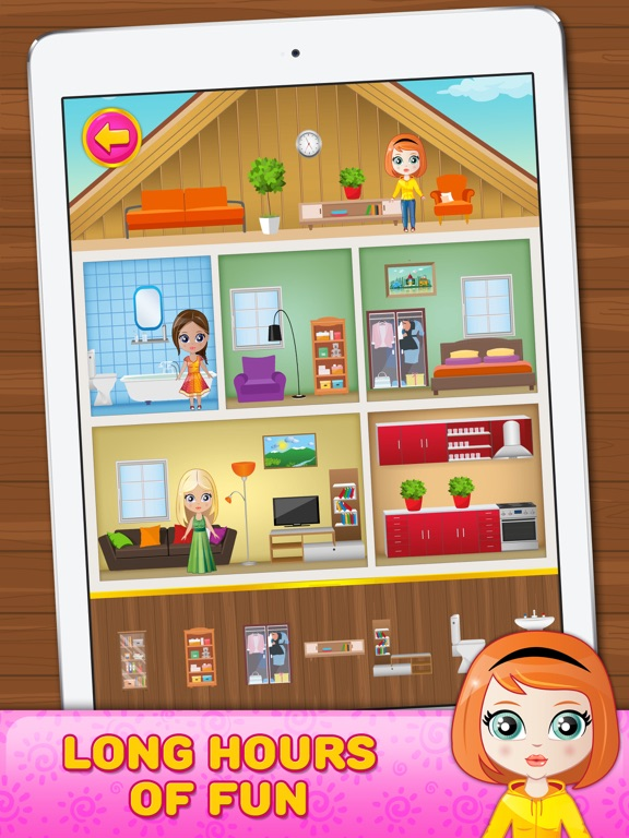doll house decorating game on the app store