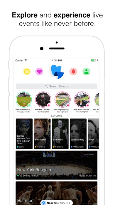 Screenshots of TickPick: No Fee Tickets | Sports, Concerts, Shows for iPhone