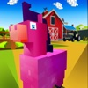 Blocky Pony Farm 3D game free for iPhone/iPad