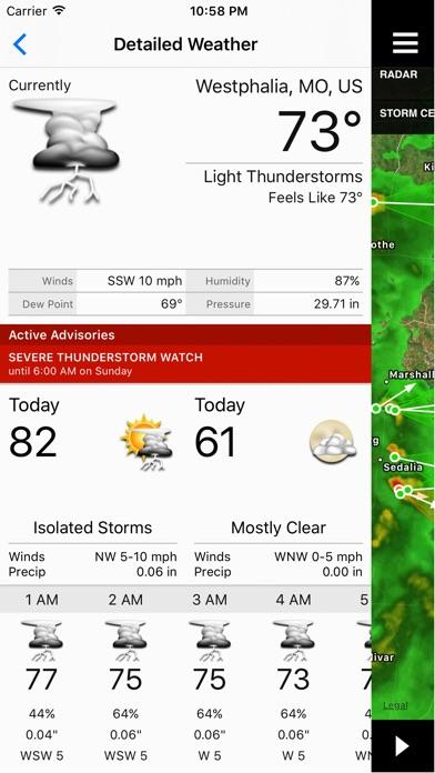 NOAA Radar Plus Screenshots