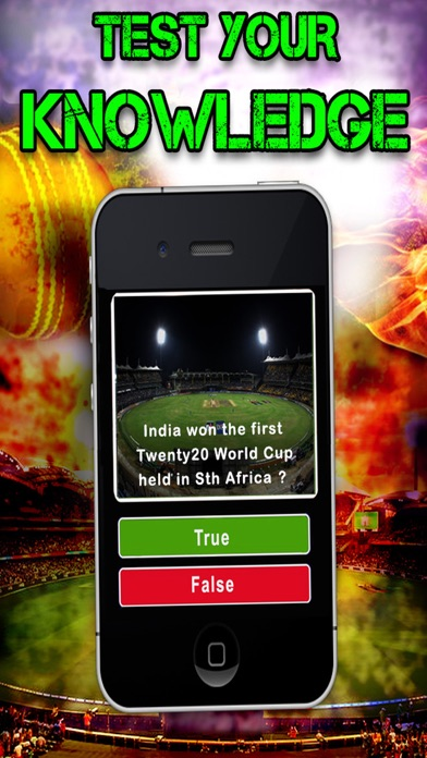Indian Cricket Quiz - Test Your Knowledge Trivia iOS Game