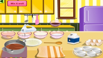 العاب طبخ كعكة ماما سارة الجميلة - العاب جديدةلقطة شاشة4