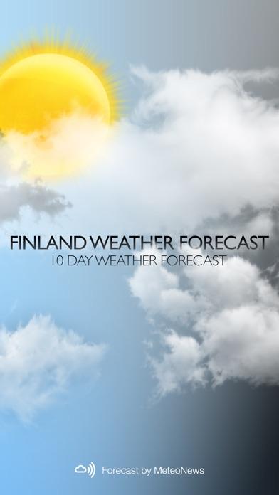 Погода в ФинляндииСкриншоты 1