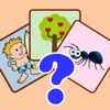 English First Words Flashcards Game