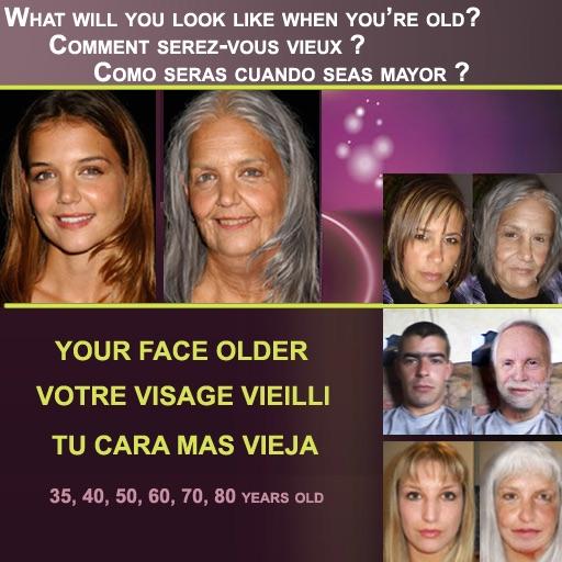 VISO INVECCHIATO - OLD AGE FACE